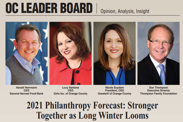 OC Leader Board: 2021 Philanthropy Forecast