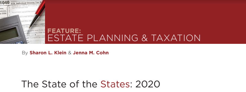 ESTATE PLANNING & TAXATION